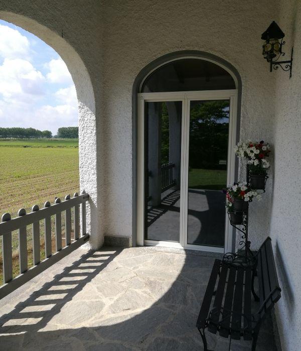 serramenti di alluminio con taglio termico vista esterna